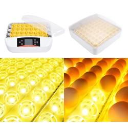 Εκκολαπτική μηχανή 56 αυγών με αυτόματη περιστροφή και led | Smartfarm.gr